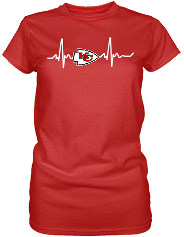 Kansas City Chiefs Heartbeat