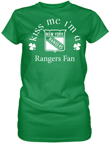 Kiss Me I'm A Rangers Fan