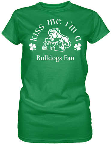 Kiss Me I'm A Bulldogs Fan