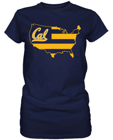 California Golden Bears - Broad Stripes
