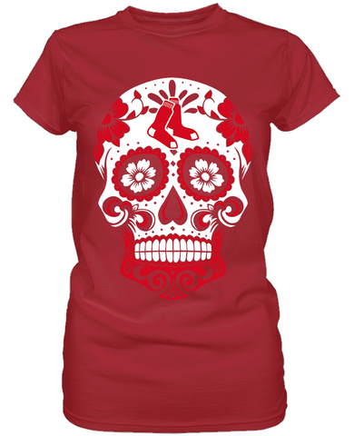 Boston Red Sox - Skull