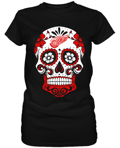 Detroit Red Wings - Skull