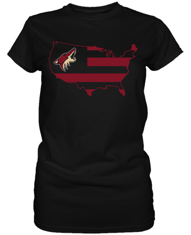 Arizona Coyotes - Broad Stripes