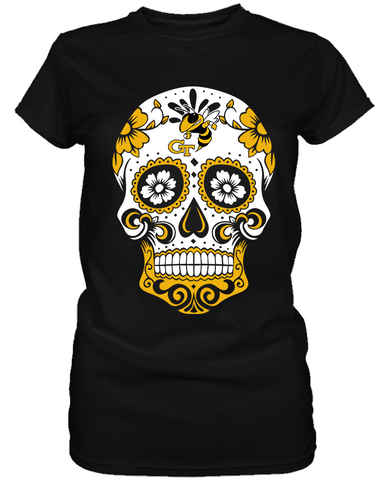 Geogia Tech Yellow Jackets - Skull