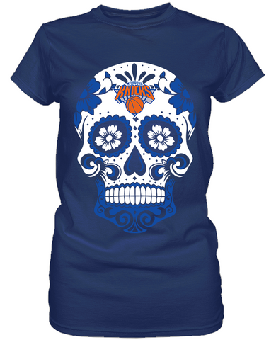 New York Knicks - Skull