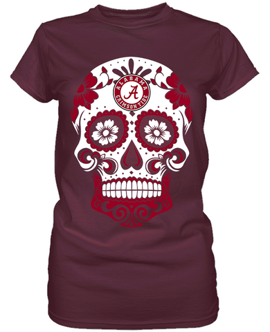 Alabama Crimson Tide - Skull