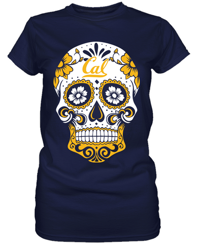 California Golden Bears - Skull