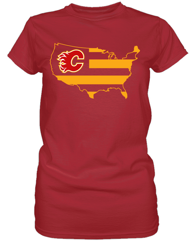 Calgary Flames - Broad Stripes