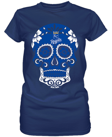 Kansas City Royals - Skull