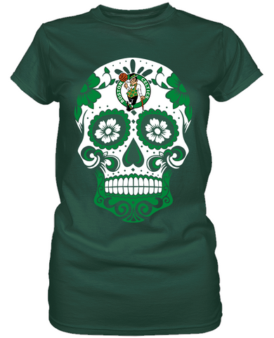Boston Celtics - Skull