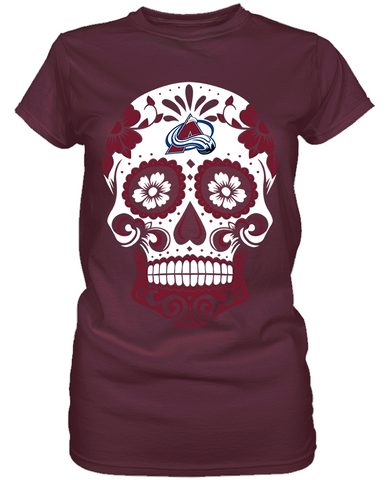Colorado Avalanche - Skull