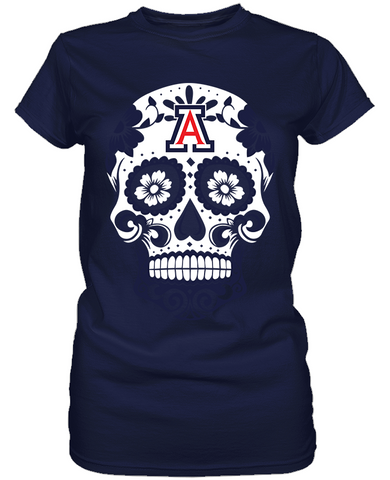 Arizona Wildcats - Skull
