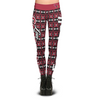Arizona Cardinals Aztec Print Leggings
