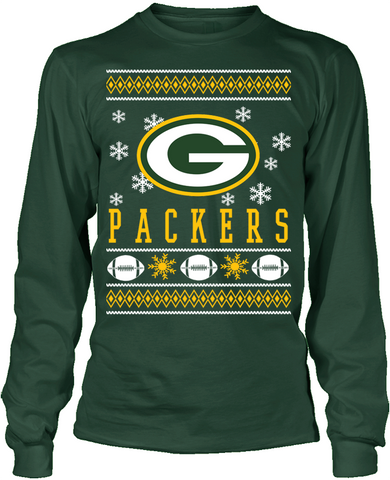 Green Bay Packers Holiday Sweater