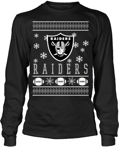 Oakland Raiders Holiday Sweater