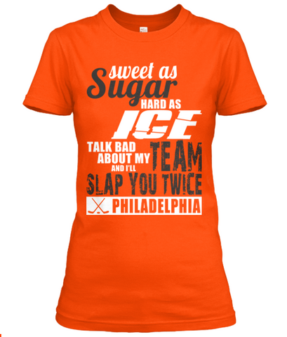Philadelphia Flyer Sweet As Sugar