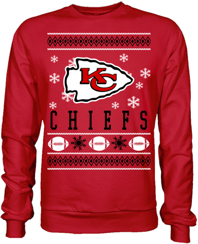 Kansas City Chiefs Holiday Sweater