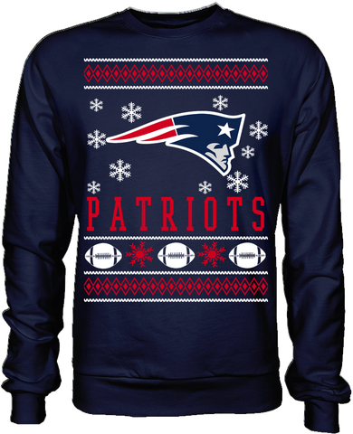 New England Patriots Holiday Sweater