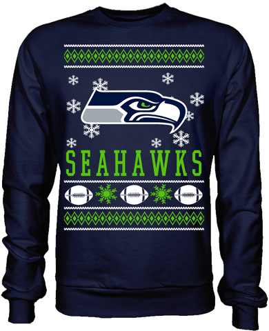 Seattle Seahawks Holiday Sweater