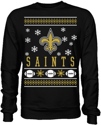 New Orleans Saints Holiday Sweater