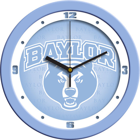 Baylor Bears Baby Blue Wall Clock