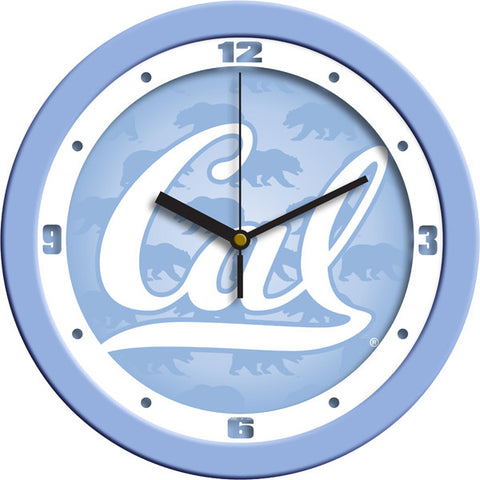California Golden Bears Baby Blue Wall Clock