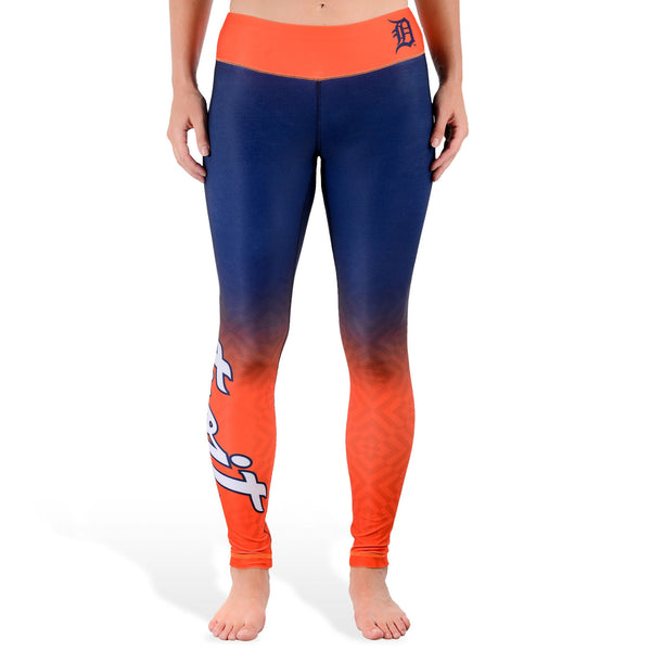 Love Detroit Tigers Leggings