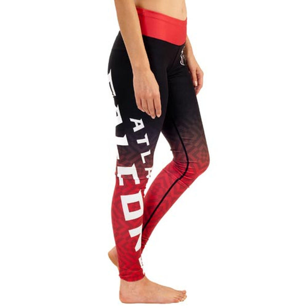 Atlanta Falcons Gradient Print Leggings