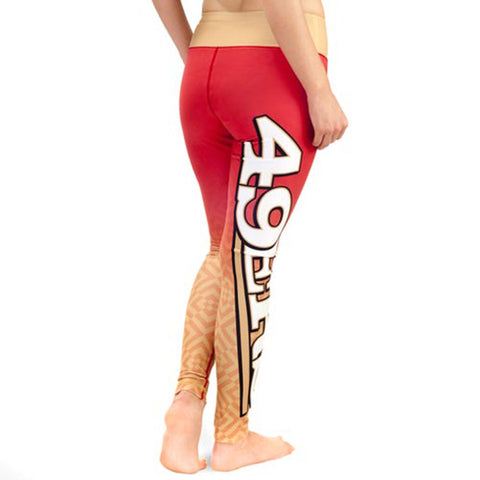 San Francisco 49ers Gradient Print Leggings