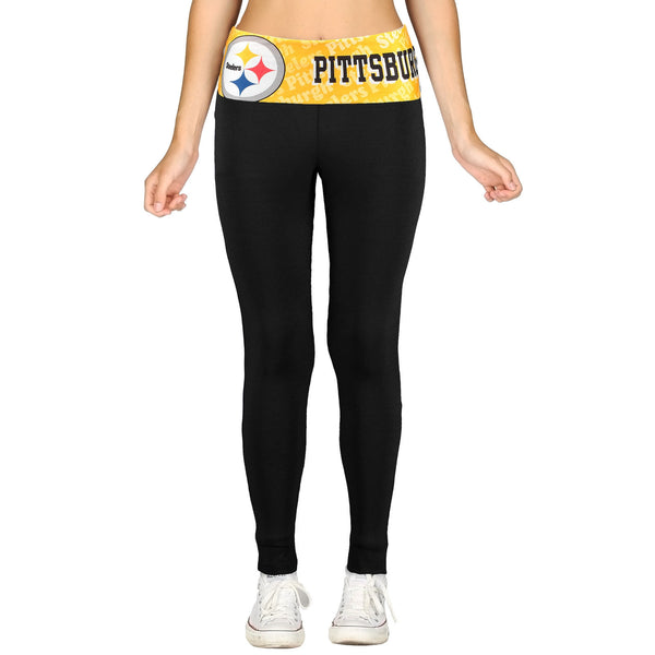 Pittsburgh Steelers Cameo Knit Leggings