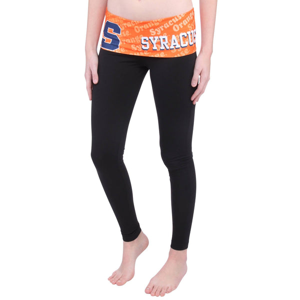 Syracuse Orange Cameo Knit Leggings