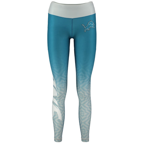 Detroit Lions Gradient Print Leggings