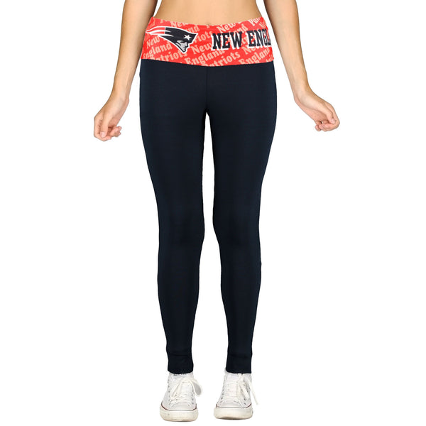 New England Patriots Cameo Knit Leggings