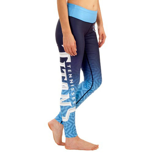 Tennessee Titans Gradient Print Leggings