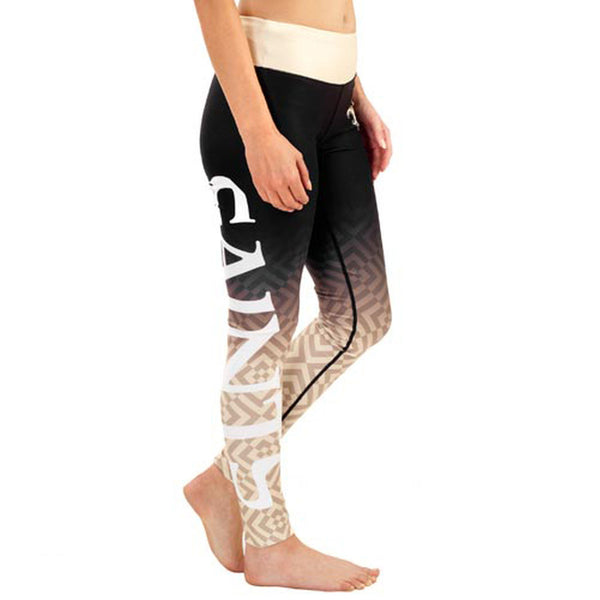 New Orleans Saints Gradient Print Leggings