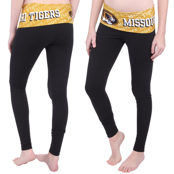 Missouri Tigers Cameo Knit Leggings