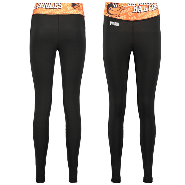 Baltimore Orioles Cameo Knit Leggings