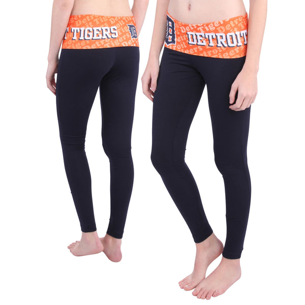 Detroit Tigers Cameo Knit Leggings
