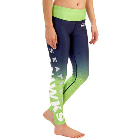 Seattle Seahawks Gradient Print Leggings