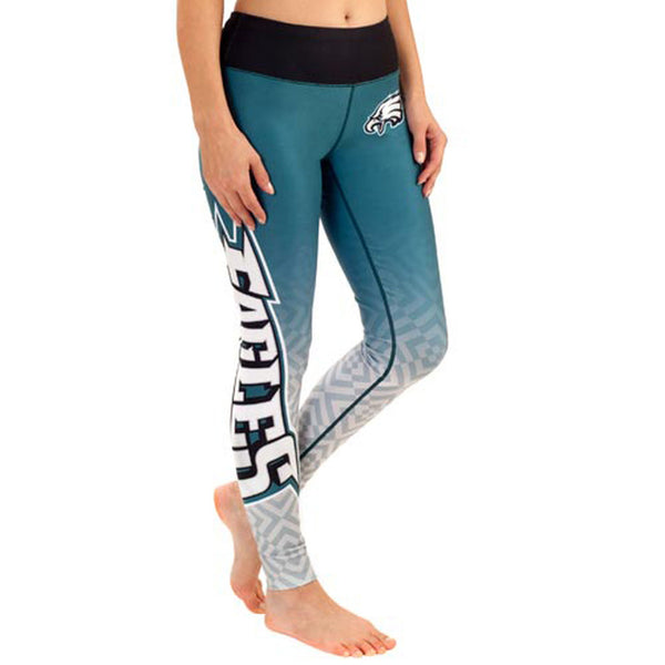 Philadelphia Eagles Gradient Print Leggings