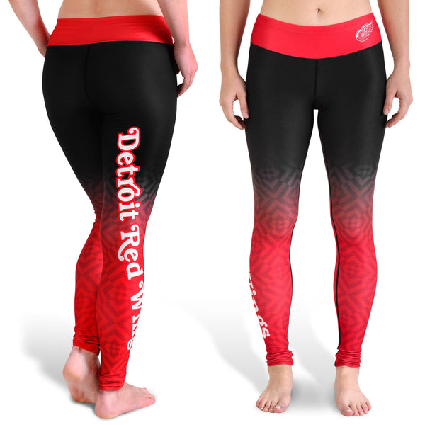 Love Detroit Red Wings Leggings