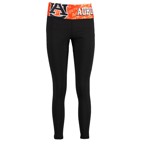Auburn Tigers Cameo Knit Leggings