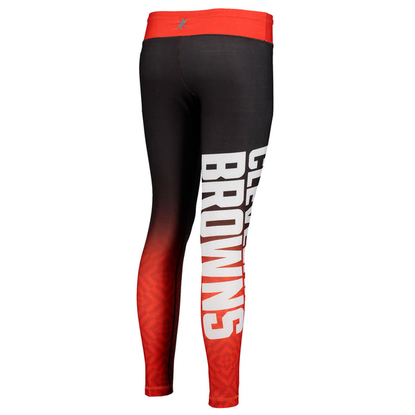 Cleveland Browns Gradient Print Leggings
