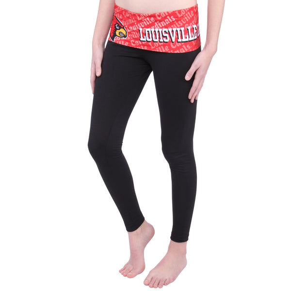 Louisville Cardinals Cameo Knit Leggings