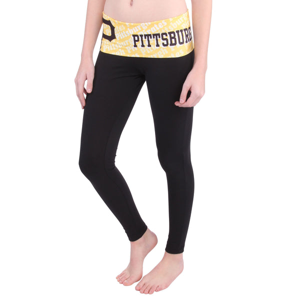 Pittsburgh Pirates Cameo Knit Leggings
