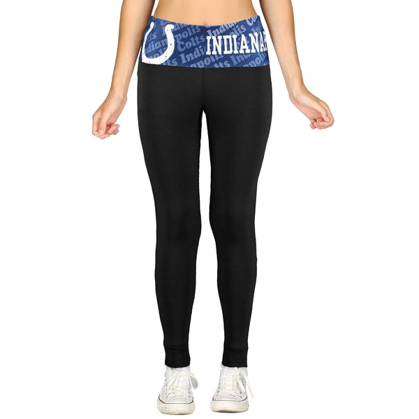Indianapolis Colts Cameo Knit Leggings