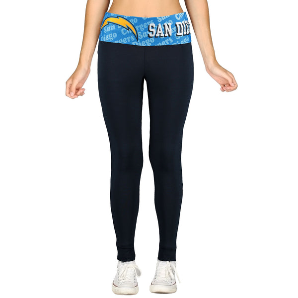 San Diego Chargers Cameo Knit Leggings