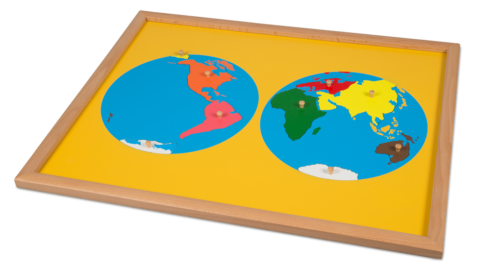 World Puzzle Map