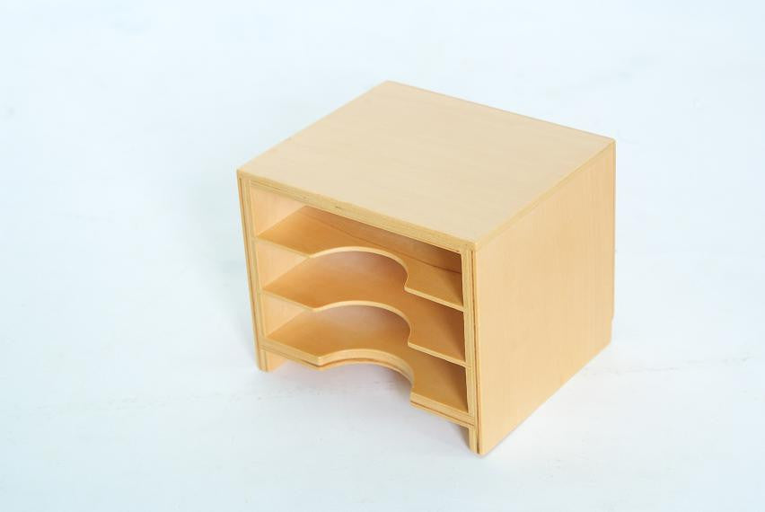 3 Shelf Cabinet for Geometric Cards