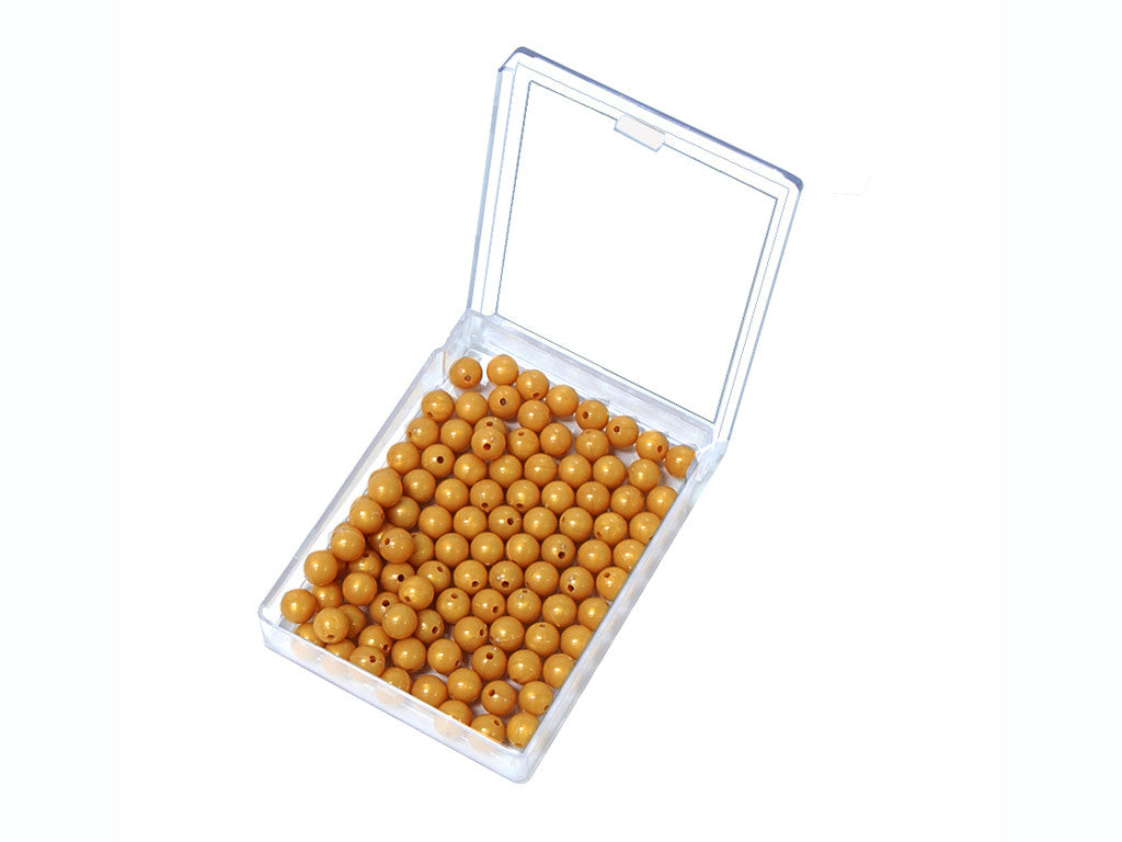 100 Golden Bead Units-Pearlite
